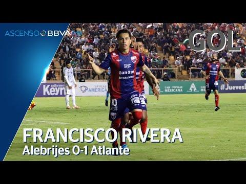 Gol de F. Rivera | Alebrijes 0 - 1 Atlante | Ascenso BBVA MX - Clausura 2020  - Jornada 8