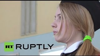 Russia: Watch this girl cadet field strip an AK-47 at lightning speed!