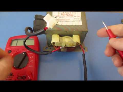 SHV-U5207A Samsung Microwave Oven Transformer MOT