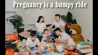 Family shoot before I pop! | Camille Prats