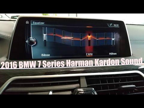 2016 BMW 7 Series - Harman Kardon Surround Sound System [FullHD]
