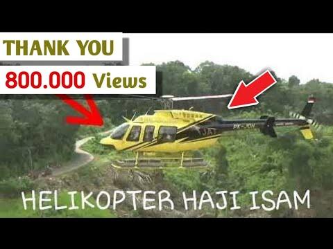 HELIKOPTER HAJI ISAM TAKE OFF - YouTube