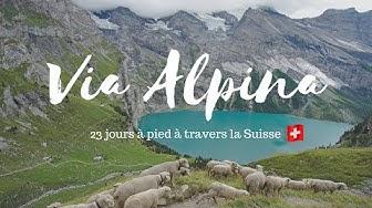 Via Alpina: Notre traversée de la Suisse à pied
