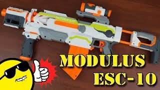 Nerf Modulus ECS-10 recenze CZ / SK Video