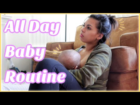 5 Month Old Baby Eat Play Sleep Schedule / Realistic All Day Baby Routine 2019 with Ola Baby