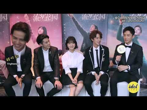 [ENGSUB] F4 (Darren Chen, Dylan Wang, Leon Leong, Caesar Wu) + Shen Yue Idol Life Interview