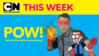 OK K.O. Pow Cards | Cartoon Network This Week