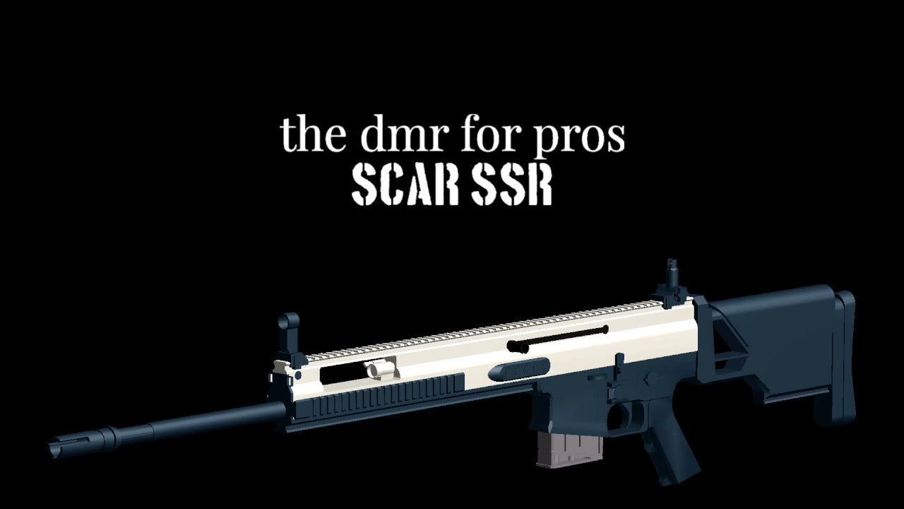 SCAR SSR - DMR for Pros | ROBLOX Phantom Forces Montage