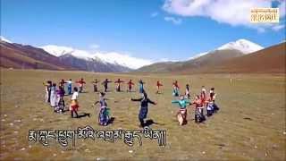Tibetan circle dance 果洛锅庄 ( མགོ་ལོག་སྐོར་བྲོ། ) 2015  [ full DVD ]