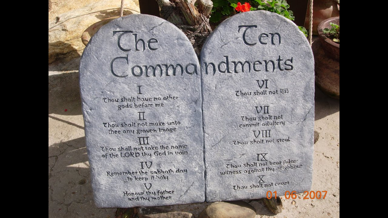 The Ten Commandments Of Christian Dating
