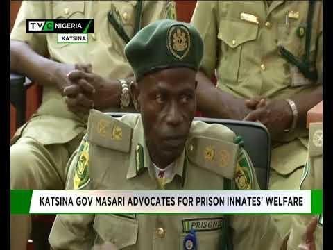 Masari advocates for prison inmates' welfare