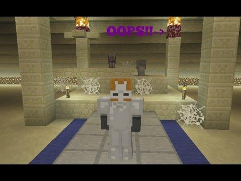Minecraft ps3  The Mummy/Sarcophagus😟