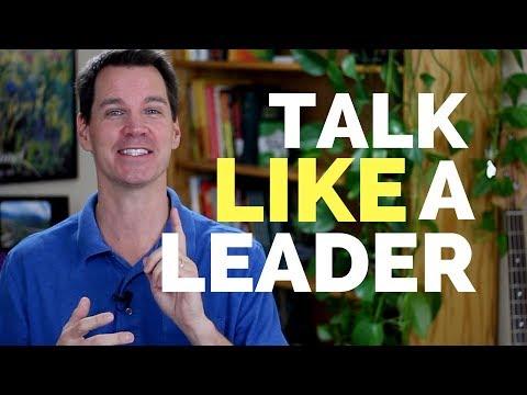How to Speak Like a Leader