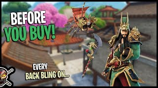 Guan Yu | Guandao Pickaxe | Divine Dragon Glider - Before You Buy - Fortnite