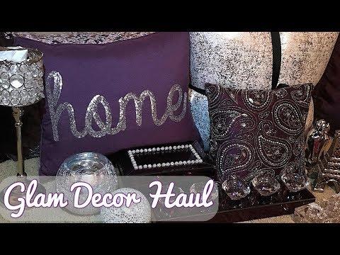 GLAM Bedroom Decor Haul