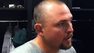 Billy Butler on getting his ring, cheers from Royals fans