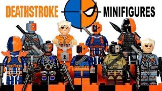 My LEGO Deathstroke 2016 DC Comics Super Heroes Minifigure Complete Collection