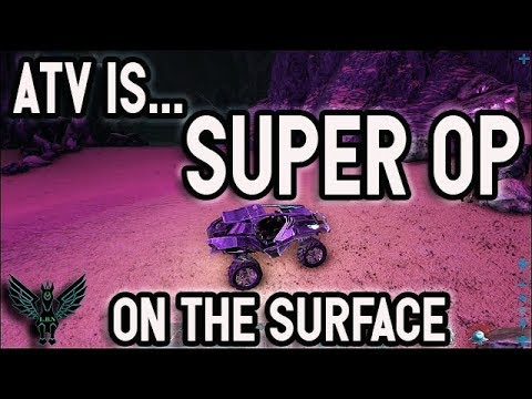 The ATV buggy is super OP on aberration surface (especially Structures+ version)