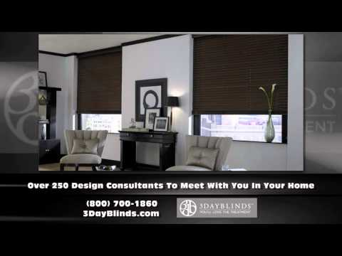 Window Treatments Irvine California - 3 Day Blinds