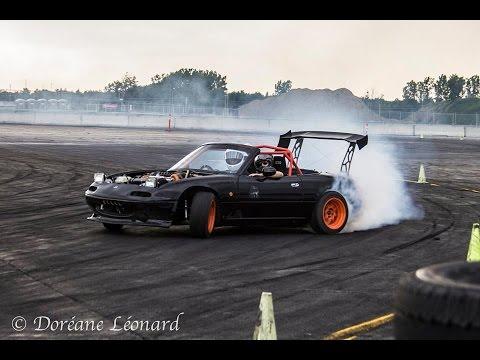 Jean Sebastien Trudel Lcdu Super Miata Drift Car Youtube