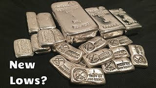 New Lows for Silver on the Horizon?