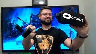Oculus Rift - о нюансах VR, обязательные аксессуары для шлема виртуальной реальности