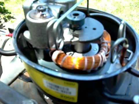 Fridge Compressors get Naked! - YouTube