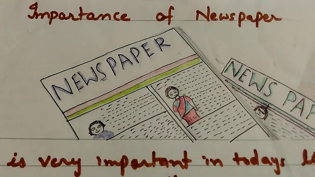 write a paragraph on  u0026quot importance of newspaper u0026quot  in simple