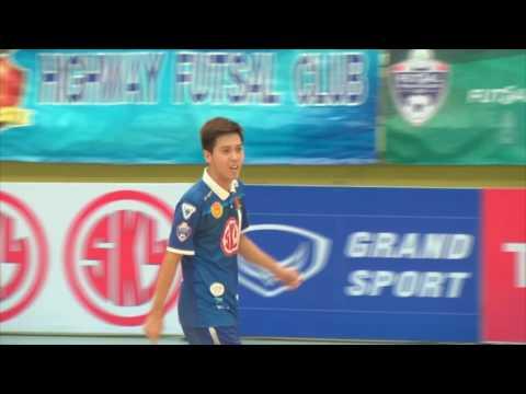 AIS Futsal Thailand League 2016 กรมทางหลวง 4-4 สมุทรสาคร  6/6/2016