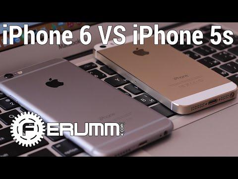 iPhone 6 VS iPhone 5S большое сравнение. Что лучше Apple iPhone 6 или iPhone 5S мнение FERUMM.COM
