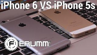 видео Сравнение Apple iPhone 5S и 5. Быстрее, выше, сильнее!
