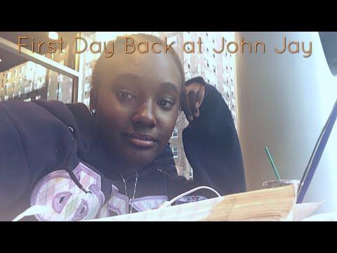 First Day Back at John Jay (junior year) Vlog 1