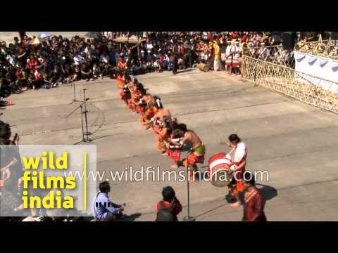 Rongmei Naga dance from Manipur