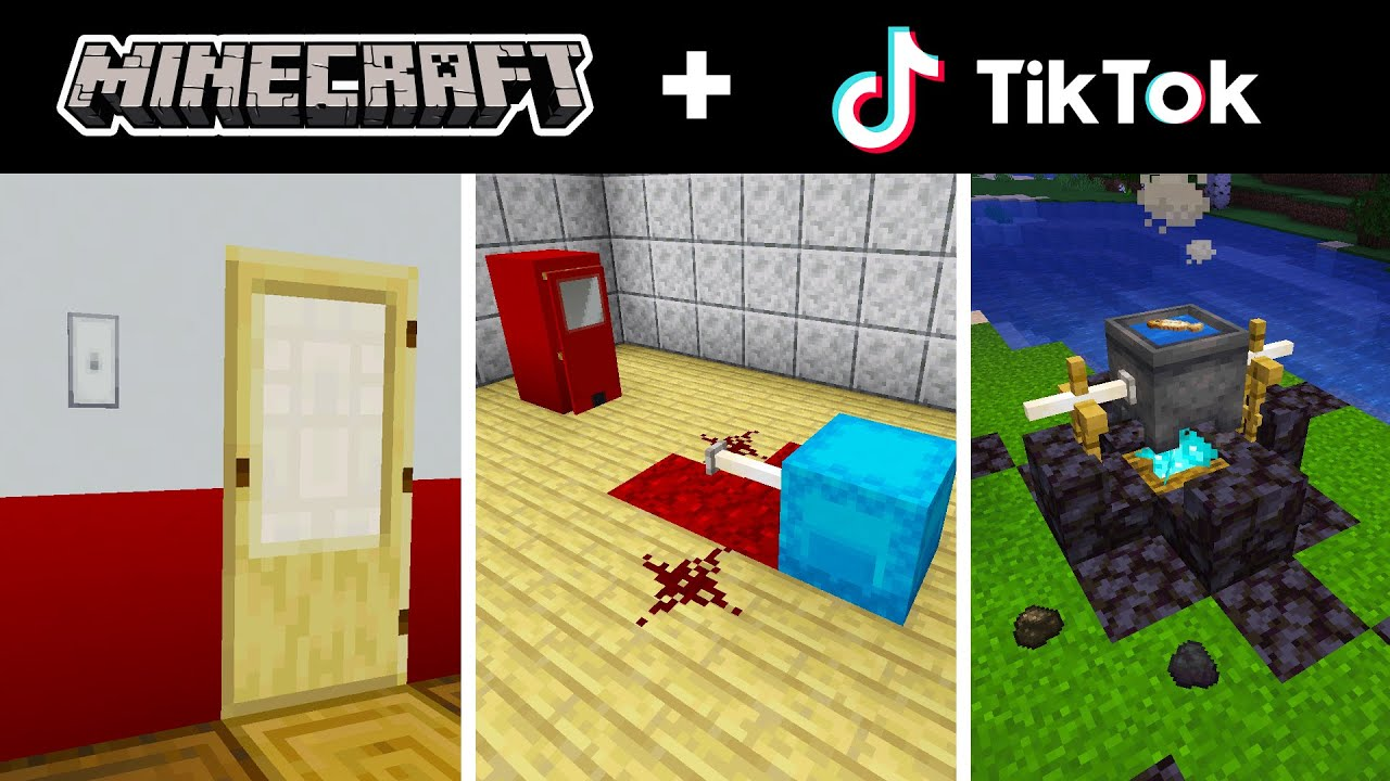Minecraft Tik Tok Compilation 37