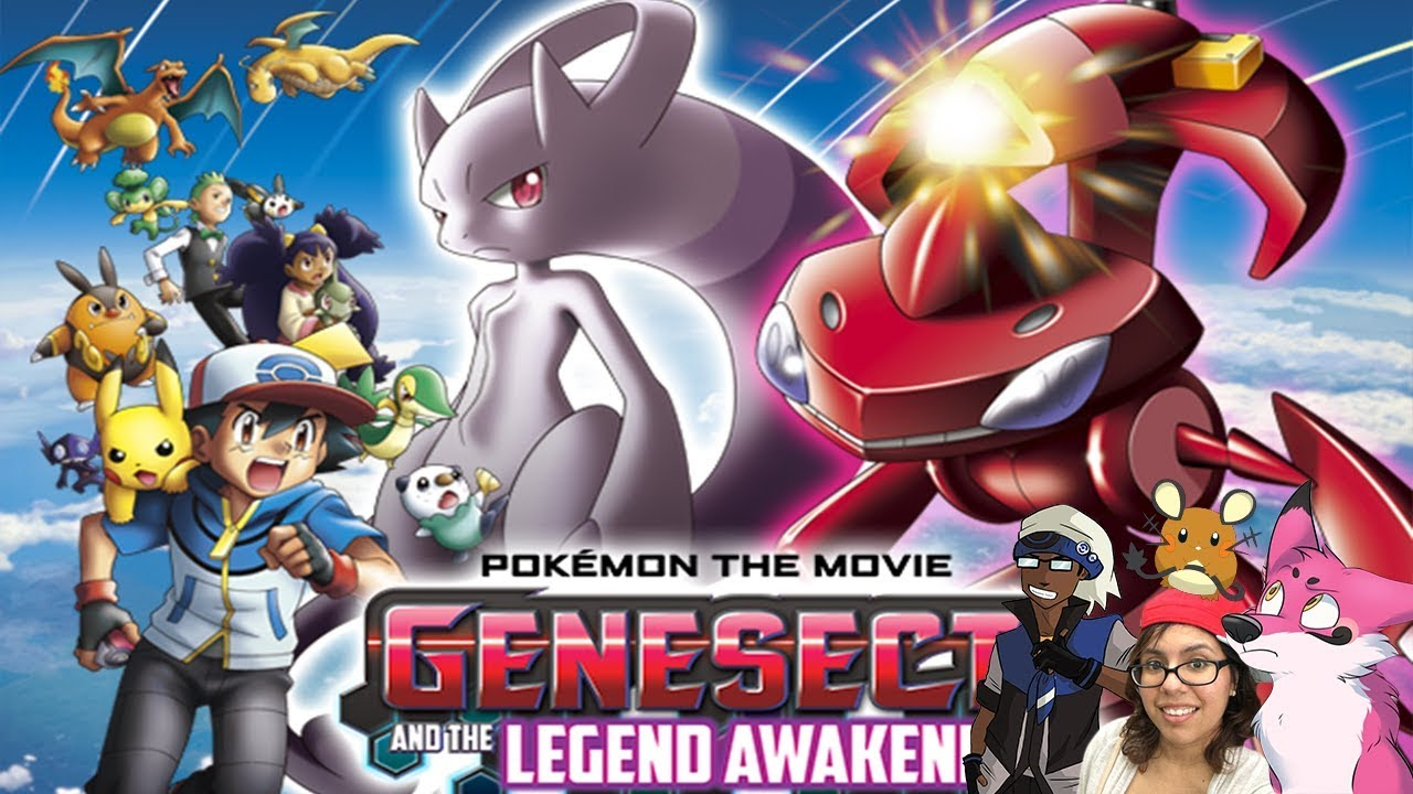Pokemovie Reviews Pokemon The Movie Genesect And The Legend