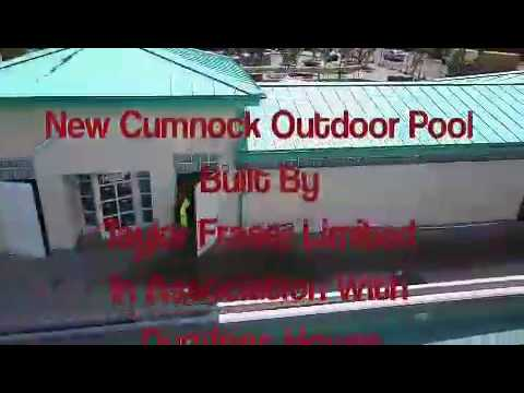 New Cumnock Outdoor Pool Youtube