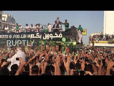 Algeria: National Team Get Hero's Welcome After Africa Cup Win