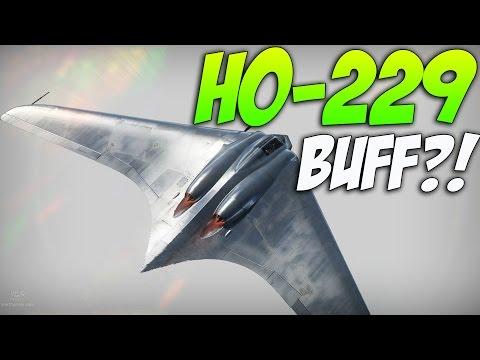 War thunder Ho-229 Buff?! Better Acceleration - Ho-229 Vs BOMBERS