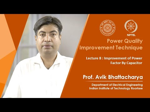 Lecture 08: Improvement of Power Factor By Capacitor