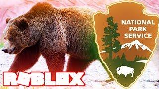 GRIZZLY BEAR NATIONAL PARK IN ROBLOX (Familienfreundliche saubere Tiere lässt Rollenspiel für Kinder spielen)