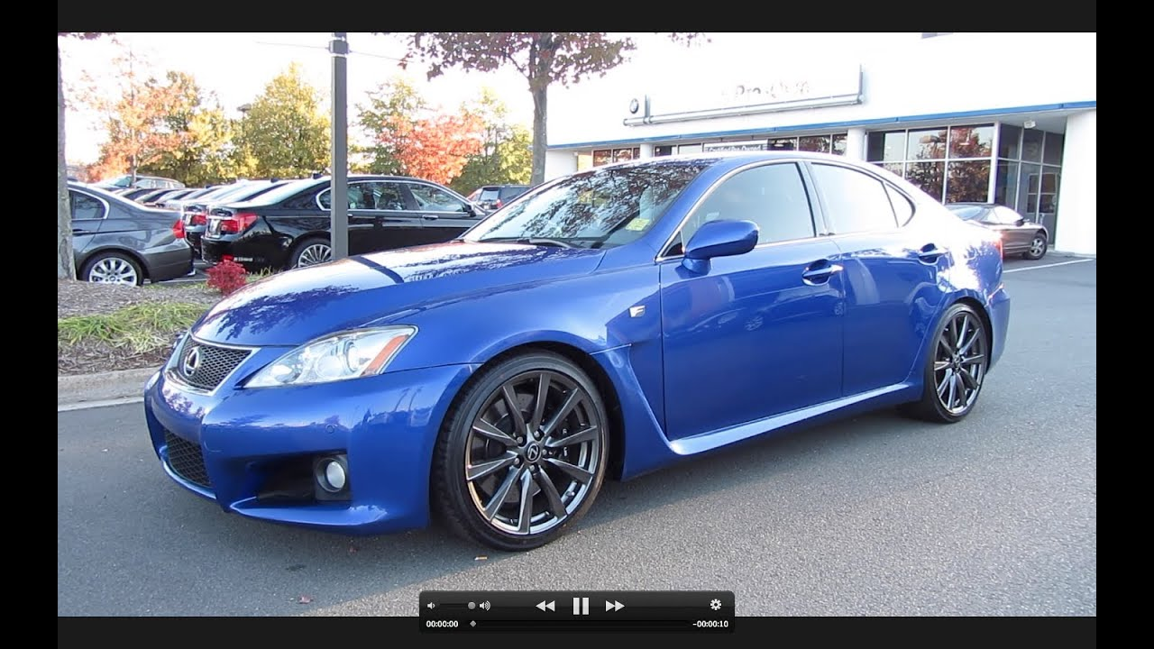 Wonderful 2008 Lexus IS F Start Up, Exhaust, And In Depth Tour   YouTube