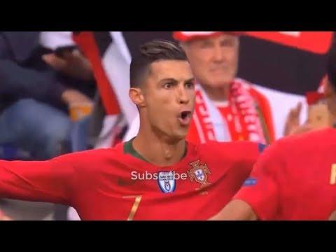 C・ロナウドが圧巻ハットトリック! ポルトガルがスイスを下してネーションズリーグ決勝進出!