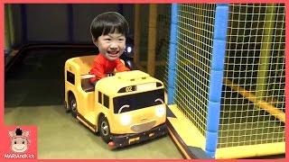 타요 키즈 카페 어린이 놀이 운전놀이 ♡ 타요버스 자동차 장난감 Tayo kids cafe toys тайо автобус Игрушки | 말이야와아이들 MariAndKids