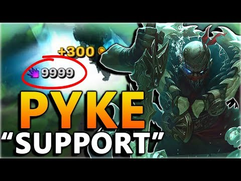PYKE THE NEW BROKEN ASSASSIN... Support? - New Champion Pyke Gameplay - League of Legends thumbnail