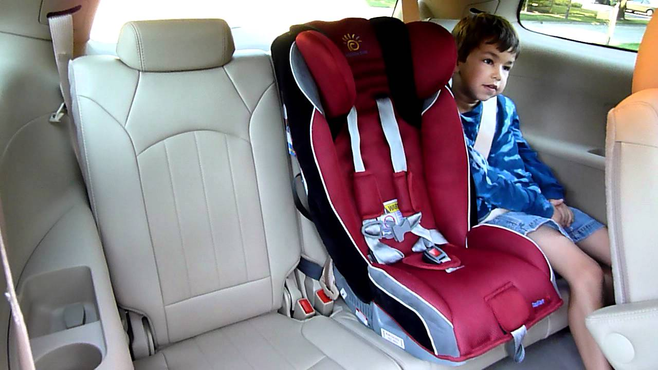 2016 Toyota Highlander For Sale >> Buick Enclave Review: Kids and Carseats - YouTube