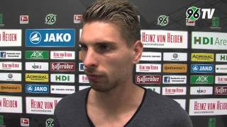 3. Spieltag | Hannover 96 - Hamburger SV | Interview Ron-Robert Zieler