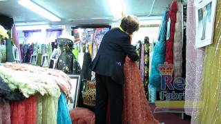 Handmade Dresses by Rex Fabrics - Vestidos de Alta Costura Hechos a Mano por Rex Fabrics Thumbnail