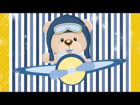 Convite Animado Ursinho Aviador Youtube