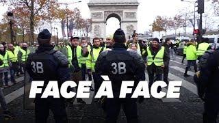 Baixar Les images des heurts entre gilets jaunes et police sur les Champs-Elysées