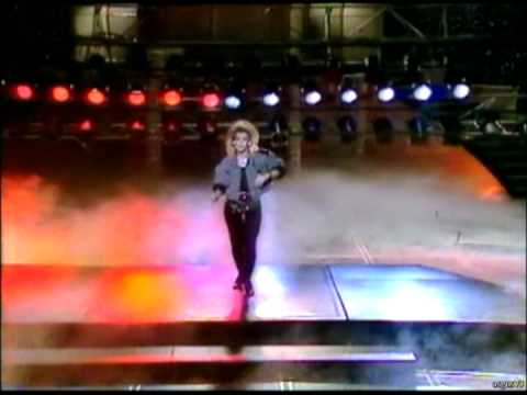 C.C.Catch - Heaven And Hell & Heartbreak Hotel / TVE, 1987,LIVE/